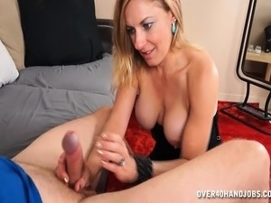 free mature handjob video