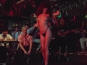 girl dancing in bikini on webcam