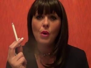 wife smokes cigars video