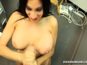 cute girl handjob