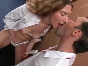 Sex with sexy nurse