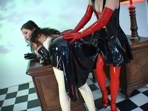 free big boobs in latex galleries