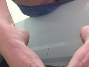 Nude girls touching