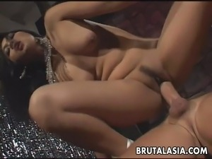 anal destruction asian