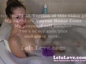 bubble bath pussy teen