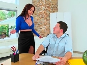 watching wife fuck her boss video
