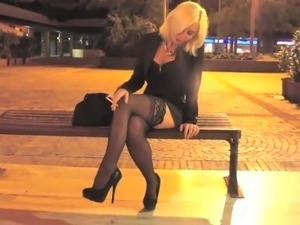pantyhose smoking glamour sexy