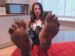 black anal foot and stockings porn