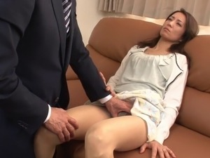 double pentration with my japanese wife