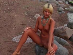ebony beach sexy