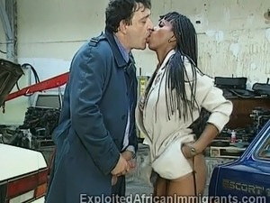 having sex with an african girl