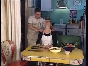 hot sex in a kitchen video