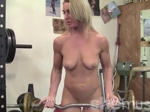 Hot girls at the gym
