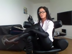 leggings boots sex pics
