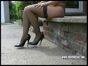 granny sex videos high heels