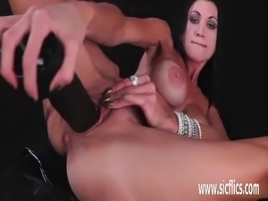Brutally fisting hot amateur milfs loose pussy