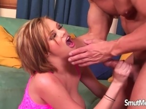 Real cum in mouth
