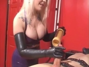 Big tit milking