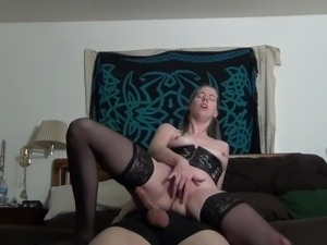 girl riding cock hardcore