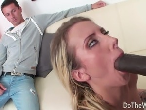 Blonde Wife Big Black Dick