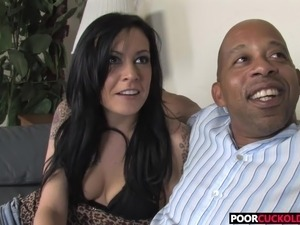 blowjob cuckold sucking galleries interracial