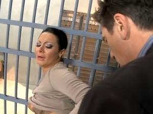 black jail porno