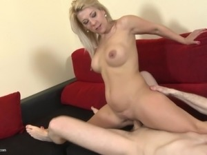 mothers anal threesome