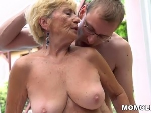 granny lesbian movie facial