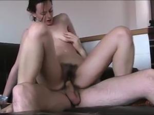 girl riding a sex machine