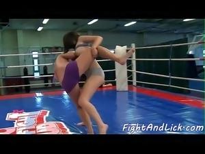 Teen nude wrestling