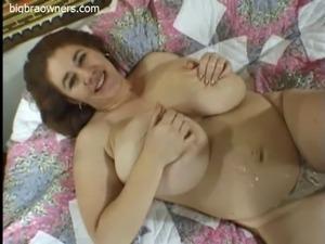 dicks up big tit girl