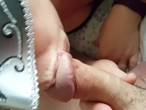 Hot girl swallows