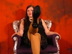 sex in black heels