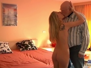 young chicks fuck by old man