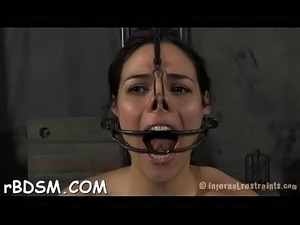 Naked girls punished