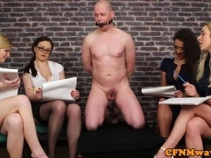 video cfnm bound blowjob