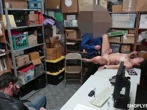 naked police girl video