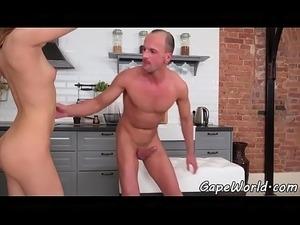 gape my pussy
