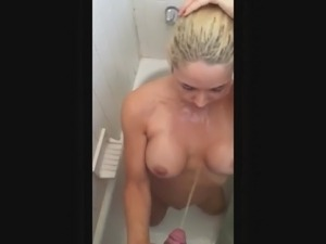 picture of girls shower