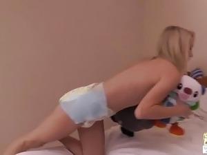 girl poop diaper video porn