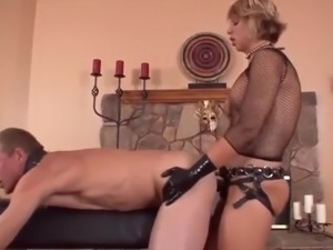 Teen lesbian strap on movies