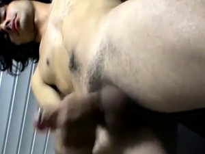 girl pissing panties while giving blowjob