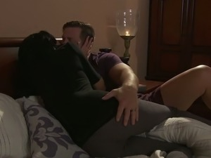 Hot couple doing sex