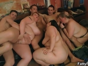 titty pulling orgy anal sex