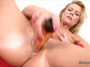 girl on sex toy