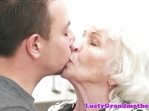 milf seduced by young girl