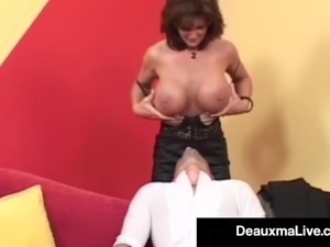 deauxma mommy got boobs video