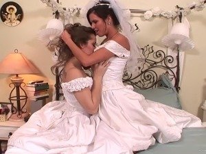 Bride group sex
