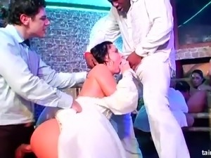 free amateur bride porn