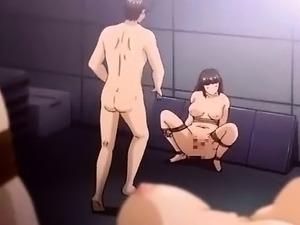 shemale on girls hentai